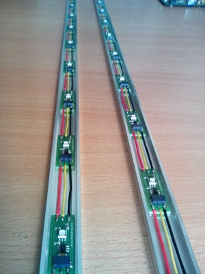 digital RGB LED stripe